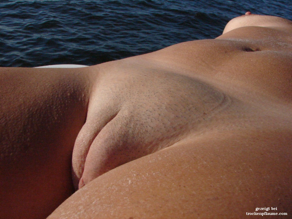 Reife paare nackt am strand
